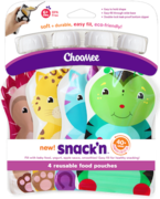 ChooMee Snack'n Sosepussit (4-pack)
