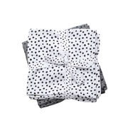 Done by Deer Happy Dots Burp Cloth Harsot Harmaa