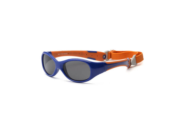 RKS Explorer Aurinkolasit Navy/ Orange